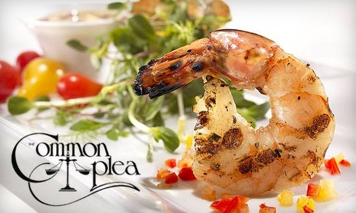 The Common Plea Restaurant - Downtown: $15 for $35 Worth of Fine-Dining Appetizers and Drinks at The Common Plea Restaurant