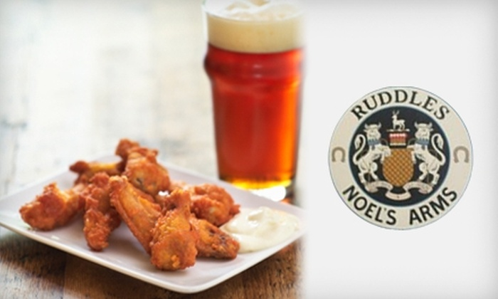 Ruddles Pub & Grill - Montgomery: $10 for $20 Worth of Pub Fare and Drinks at Ruddles Pub and Grill