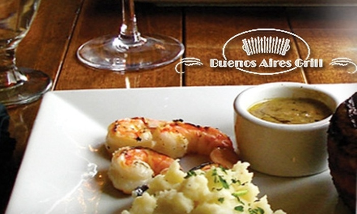 Buenos Aires Grill - Belltown: $20 for $40 Worth of Argentinean Fare and Drinks at Buenos Aires Grill