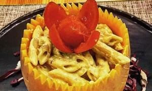 L'Asparago: Menu vegetariano o vegano di 4 portate e vino biologico da L'Asparago, in centro a Como (sconto fino a 54%)
