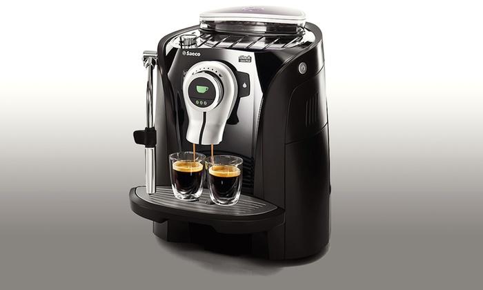 Philips Saeco Odea Giro Plus Automatic Espresso Machine: Philips Saeco Odea Giro Plus Eclipse Edition Automatic Espresso Machine (RI9755/47).