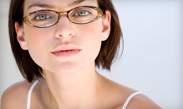 Amalgamated Eyes - Union: Eye Exam and $200 Toward Prescription Eyeglasses, or a Contact-Lens Package at Amalgamated Eyes (Up to 89% Off)