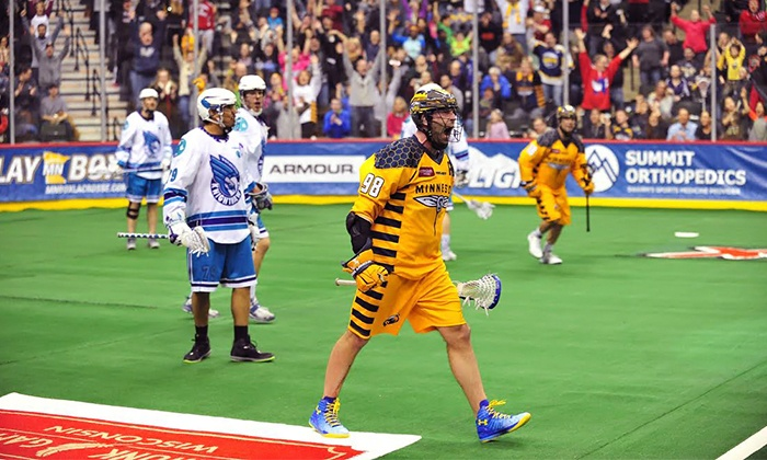 Minnesota Swarm vs. New England Black Wolves - Xcel Energy Center: $29 for a Minnesota Swarm Lacrosse Game at Xcel Energy Center on Friday, April 3, at 7:30 p.m. ($57.62 Value)