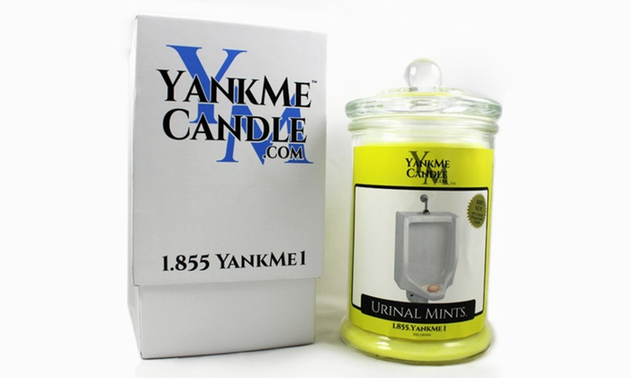 YankMeCandle.com - YankMe Candle: $20 for $40 Worth of Funny Custom Scented Candles from YankMeCandle.com