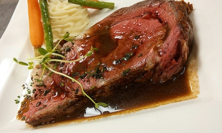 Three-Course Prix Fixe Dinner for Two or Four at Michele's at Dover Downs (44% Off)