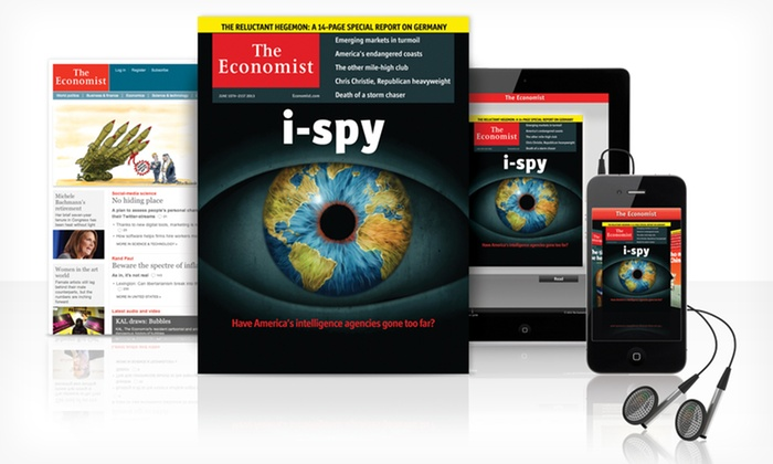 The Economist: 51-Week Digital, Print, or Digital and Print Subscription to _The Economist_ (60% Off)