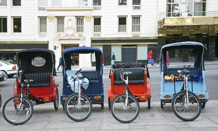$69 for 2.5-Hour Pedicab Brewery Tour for Up to Three from All-American Pedicabs ($150 Value)
