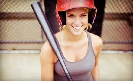 One 30- or 60-Minute Batting Cage Session at Sports A Rama East Cobb (Up to 58% Off)