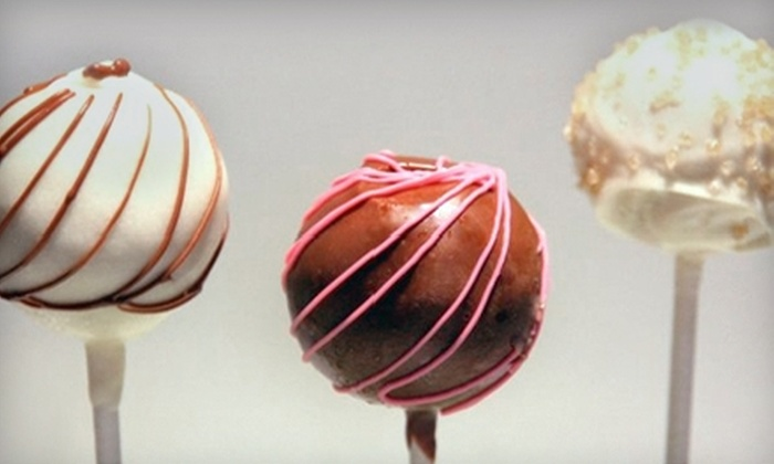 Candy Cake Company: $14 for One Dozen Cake Truffle Pops from Candy Cake Company ($31.27 Value)