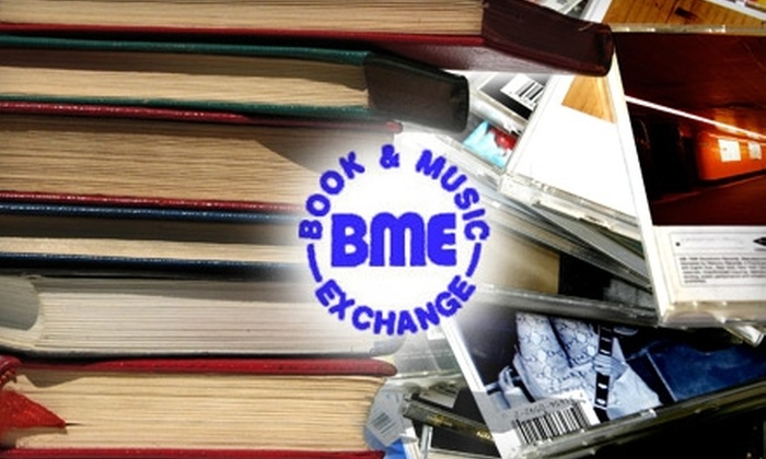 Book and Music Exchange - Multiple Locations: $12 for $25 Worth of Books, Movies, and Games at Book and Music Exchange