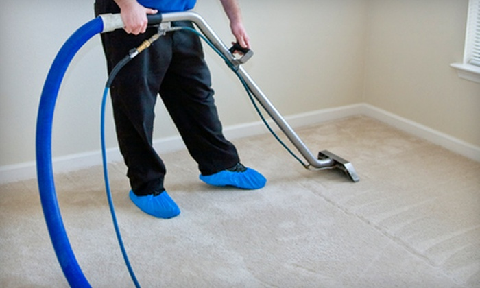 All Star Tile & Grout Restoration - Rockford: $75 for Carpet Cleaning for Three Rooms from All Star Tile & Grout Restoration (Up to $168.75 Value)
