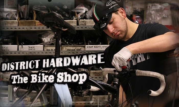 District Hardware/The Bike Shop - Foggy Bottom - GWU - West End: $60 Basic Bicycle Tune-Up from District Hardware and The Bike Shop ($110 Value)
