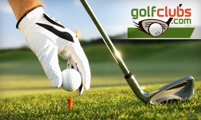 GolfClubs.com - Hosford - Abernethy: $25 For $50 Worth of Golf Gear at GolfClubs.com