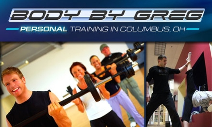 Body by Greg - Columbus: $28 for Four Group Fitness Classes and Two Personal Training Sessions at Body by Greg