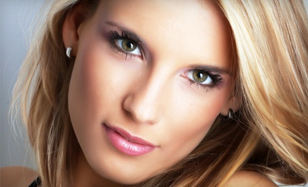 Keratin Color-Lock Glaze and Blowout (a $90 value) - Cactus Salon & Day Spa in