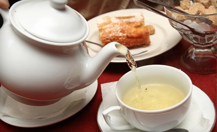 High Tea for Two (a $35.98 value) - A Corner of England in St. Petersburg