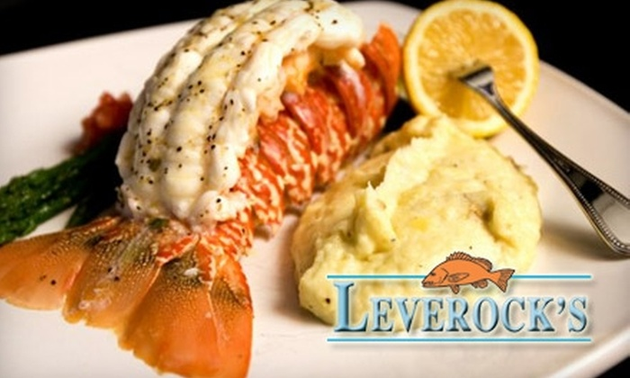 Leverock's - Tampa Bay Area: $15 for $30 Worth of Seafood and Drinks at Leverock's Seafood House