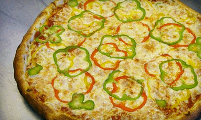 Street Legal Pizza - Broomfield: $12 for a Pizza Meal for Two at Street Legal Pizza in Broomfield (Up to $25.20 Value)