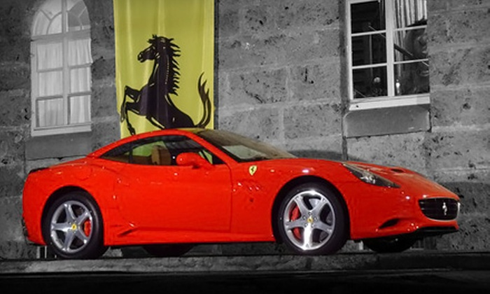 Imagine Lifestyles - Multiple Locations: $139 for a One-Hour Driving Experience in a Ferrari California or Aston Martin Vantage from Imagine Lifestyles ($389 Value)