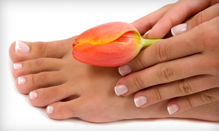 Flash Nail Spa - Norcross: One or Two Mani-Pedis at Flash Nail Spa in Norcross (Up to 54% Off)