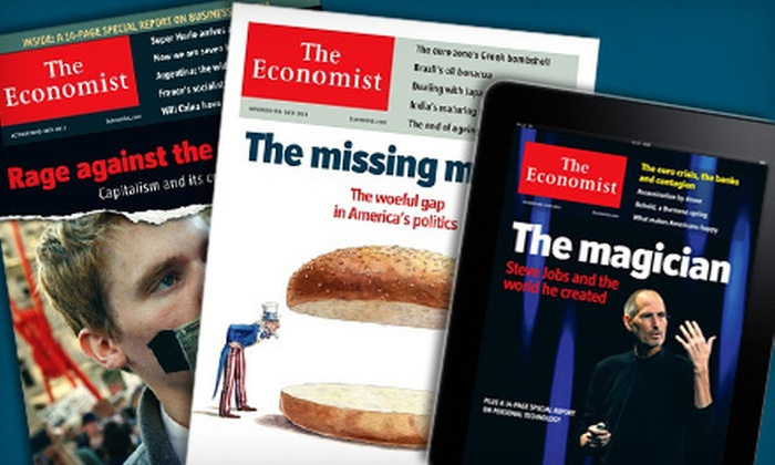 """The Economist"": $51 for 51-Issue Digital Subscription to ""The Economist"" ($126.99 Value)"
