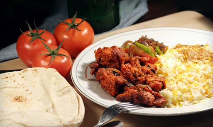 The Venue - Walker: Indian- and Pub-Fare Dinner with Appetizer and Drinks for Two or Four at The Venue (Up to 55% Off)
