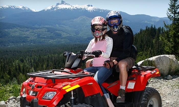 Whistler ATV - Whistler: $108 for an ATV Bushwacker Tour for Two from Whistler ATV (Up to $217.28 Value)