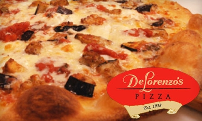 DeLorenzo's Pizza - Wilbur II: $10 for $20 Worth of Pizza at DeLorenzo's Pizza