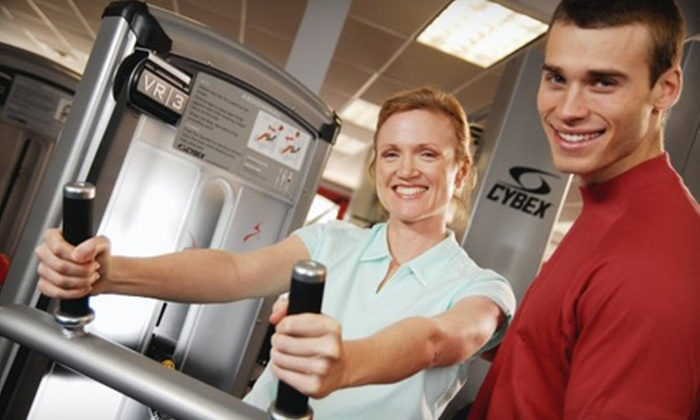 Snap Fitness - Multiple Locations: $34 for a One-Month Membership Package with Fitness Assessment, Custom Workout Plan, and Tanning at Snap Fitness (Up to $281.95 Value)