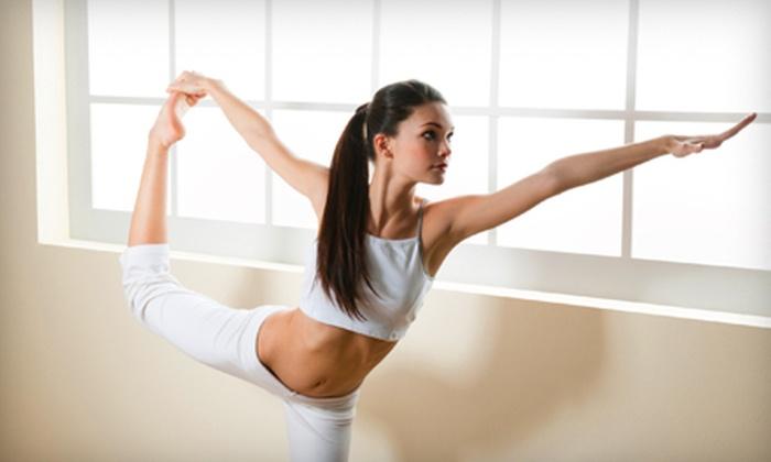 Balance Health Center - Center City West: 10 or 20 Yoga Classes at Balance Health Center (Up to 81% Off)