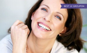The Skinny: One or Three Microcurrent Face-Lifts, or One Microcurrent Face- and Neck-Lift at The Skinny (Up to 68% Off)