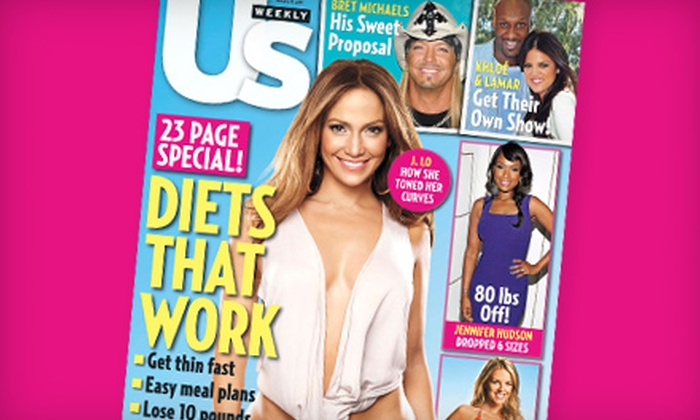 """Us Weekly"": $30 for 52 Issues of ""Us Weekly"" ($67 Value)"