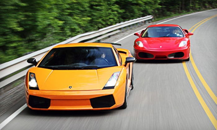 World Class Driving - Valley Center: $1,695 for an Exotic-Car Driving Experience on October 22 or 23 for Two from World Class Driving ($2,295 Value)