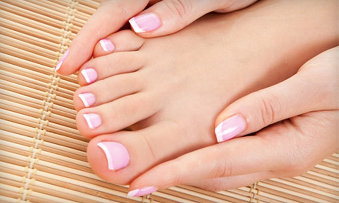 Serendipity Salon and Spa - Peachland: $35 for an Express Mani-Pedi with Take-Home Spa Package at Serendipity Salon and Spa ($85 Value)