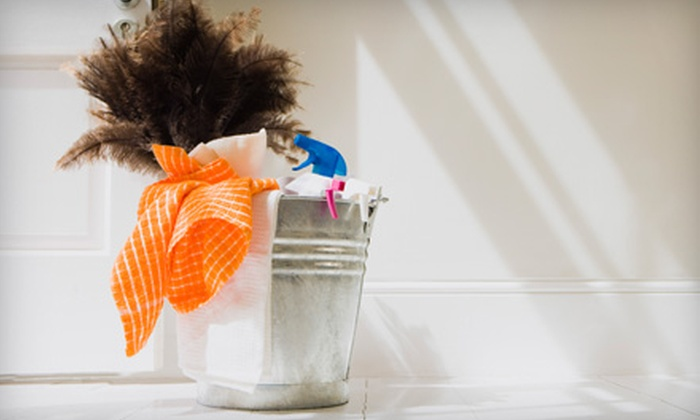 Green Cleaning - Multiple Locations: $40 for Four Hours of Eco-friendly Cleaning Services from Green Cleaning ($100 Value)