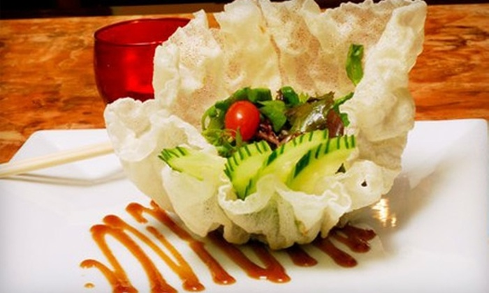 Takuma Japanese Grill - Farmette Meadows: $20 for $40 Worth of Japanese Fusion Fare at Takuma Japanese Grill in Spring