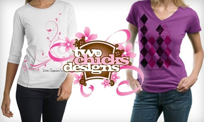 Two Chicks Designs: $7 for $15 Worth of Crafting and Hobby-Themed Apparel at Two Chicks Designs