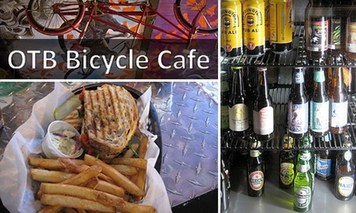 Over the Bar Bicycle Café - Southside Flats: $10 for $20 Worth of Food, Craft Beers, and More at Over the Bar Bicycle Café