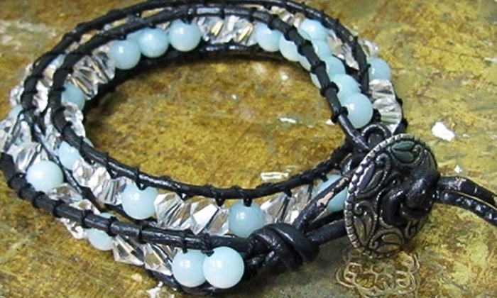 Queen Beads - Camarillo: Jewelry and Beads or Admission for Two to a Jewelry-Making Class at Queen Beads