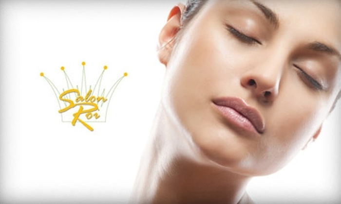 Salon Roi - Woodley Park: $40 for a Classic European Facial ($85 Value) or $25 for $50 Worth of Waxing Services at Salon Roi
