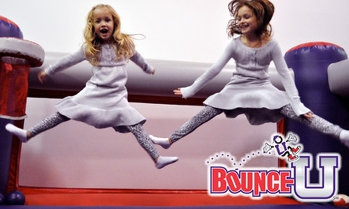 BounceU - Miami: Up to 53% Off Bouncing Fun for All Ages at BounceU. Choose from Three Options.