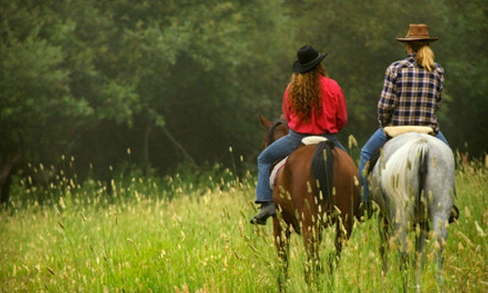 Stono River Riding Academy - Johns Island: $50 for a One-Hour Horseback Trail Ride for Two at Stono River Riding Academy on Johns Island ($110 Value)