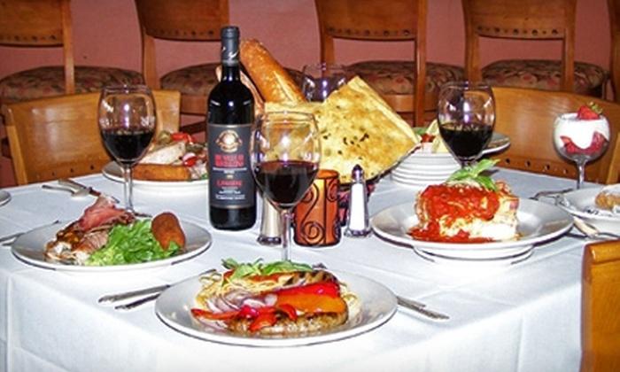 Aiello's - Phoenix: $15 for $30 Worth of Italian Fare and Drinks at Aiello's