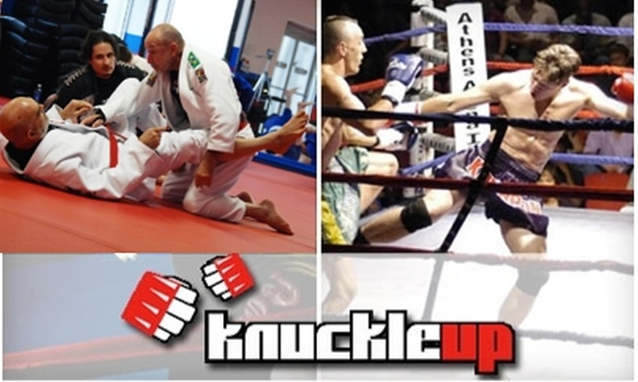 KnuckleUp Fitness - Multiple Locations: $39 for a Month of Unlimited Boxing, Jiu Jitsu, Muay Thai, and Additional Fitness Classes at KnuckleUp Fitness ($149 Value)