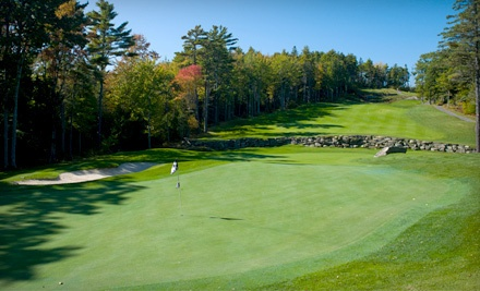 18-Hole Round of Golf for 1 with a Cart (a $95 value) - Boothbay Country Club in Boothbay