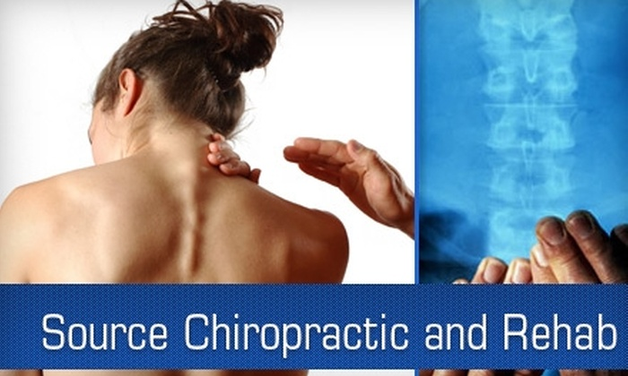 Source Chiropractic & Rehabilitation - 5: $45 for an Initial Chiropractic Exam and Therapeutic Massage at Source Chiropractic and Rehab ($90 Value)