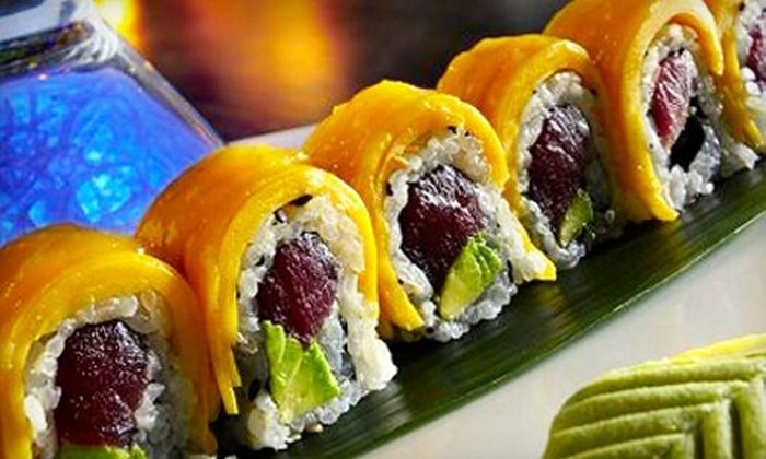 Taiko Japanese Restaurant - Baton Rouge: $20 for $40 Worth of Sushi, Sake, Hibachi, and Other Japanese Specialties at Taiko Japanese Restaurant