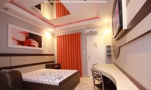 Motel Maramores: Motel Maramores – Ribeirão Pires: período de 3h ou 12h em 4 opções de suíte (opções com vinho)