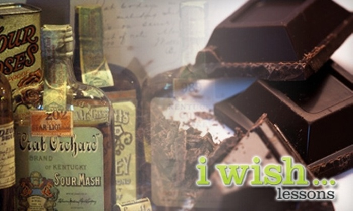 I Wish - Multiple Locations: $20 for One Chocolate or Whiskey Class from I Wish