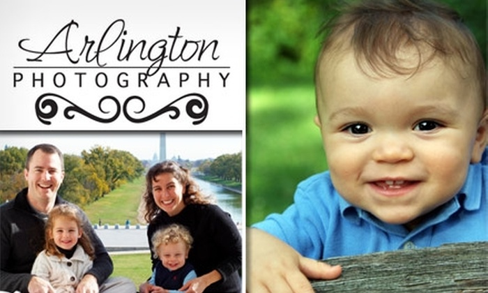 Arlington Photography - Washington DC: $49 for a Photo Shoot, Prints, and Digital Images from Arlington Photography ($392 Value)
